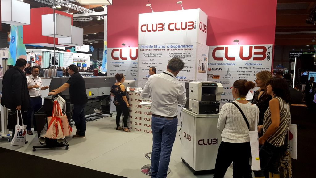 Club Groupe au salon Print in Progress 2018.