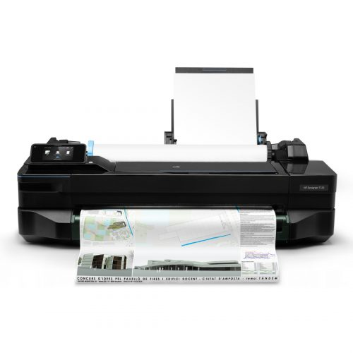 HP Designjet T120 face