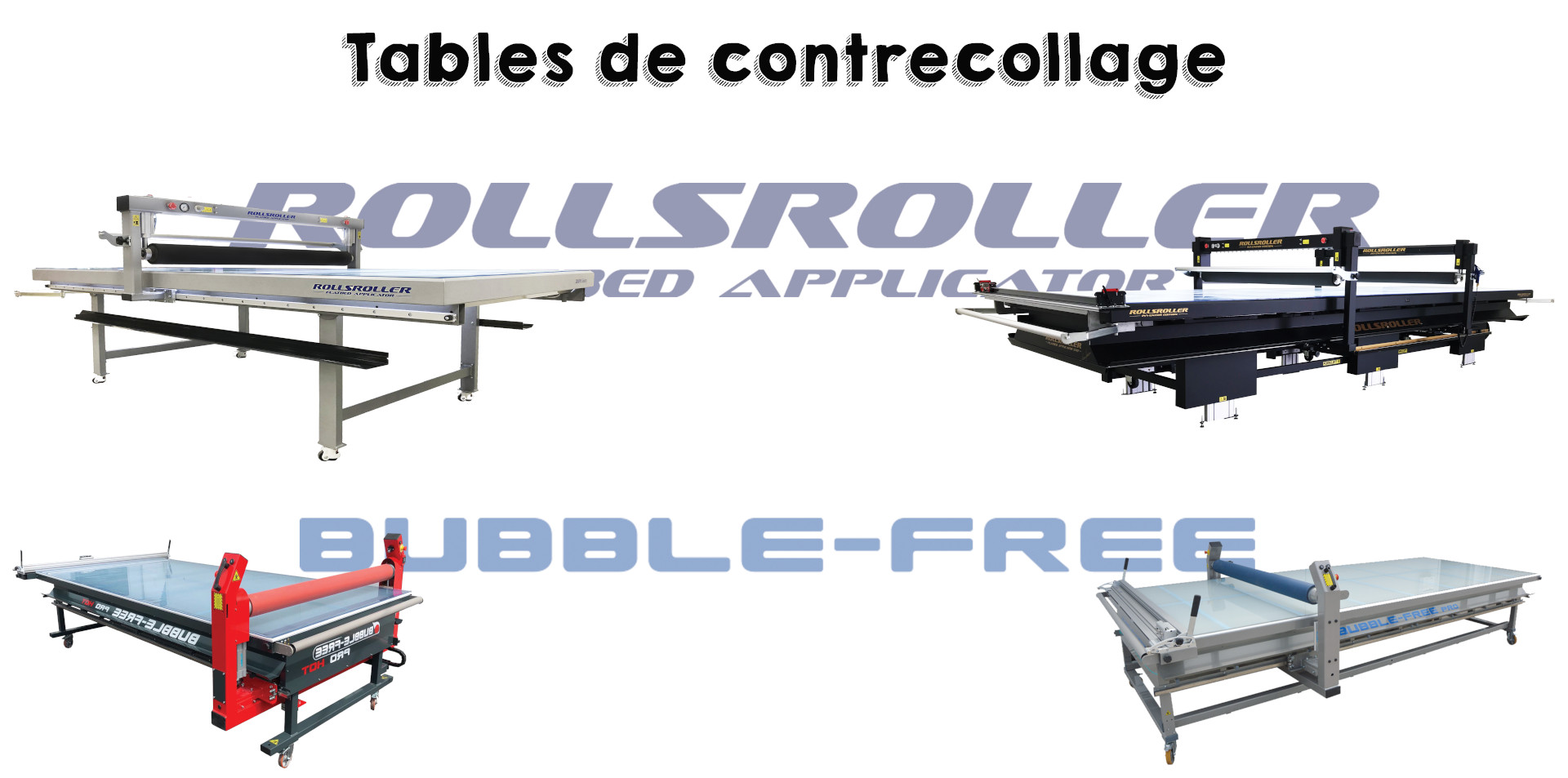 Tables de contrecollage - Club Groupe